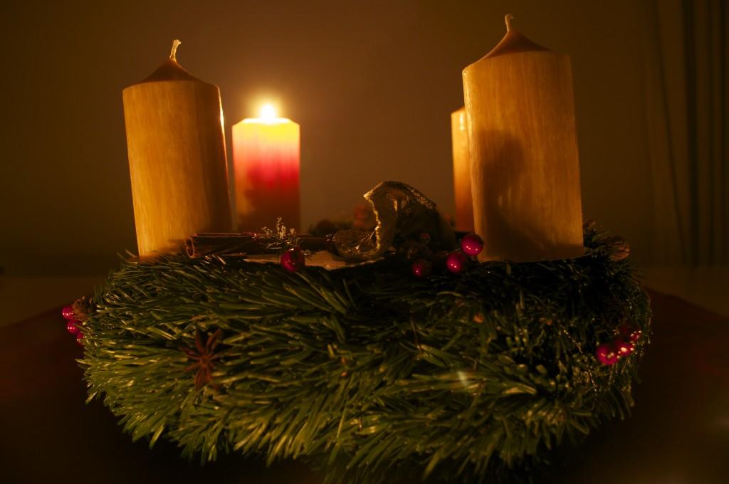 Advent, Advent ein Lichtlein brennt