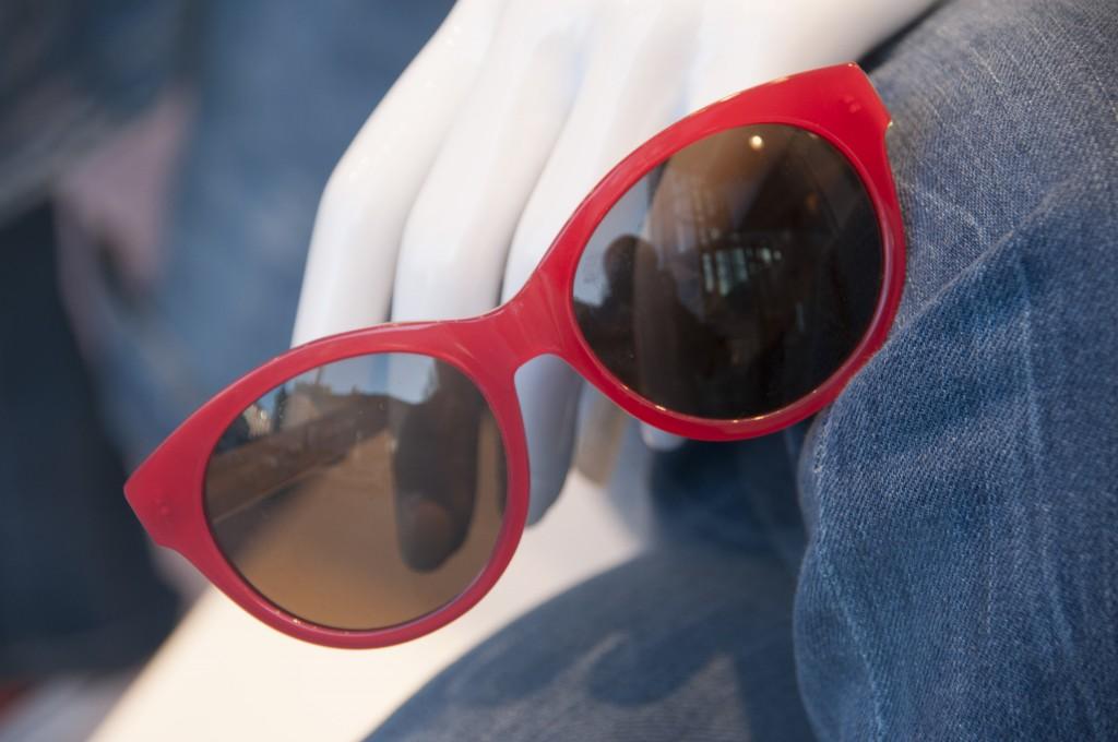 Red sunglas
