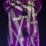 Lila Leuchtturm